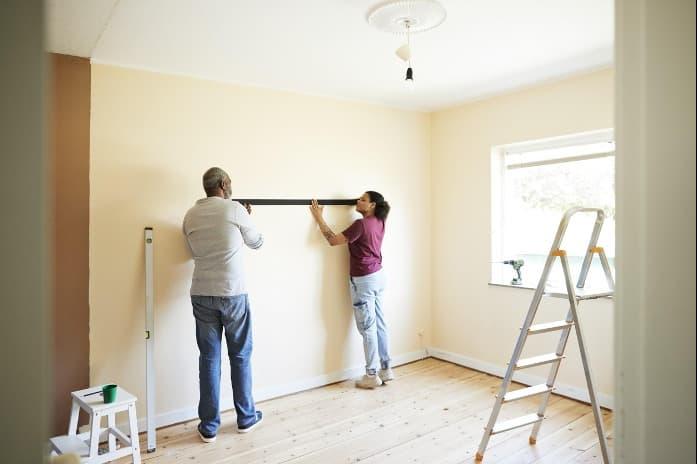 Aprenda métodos de como medir a área que vai pintar.