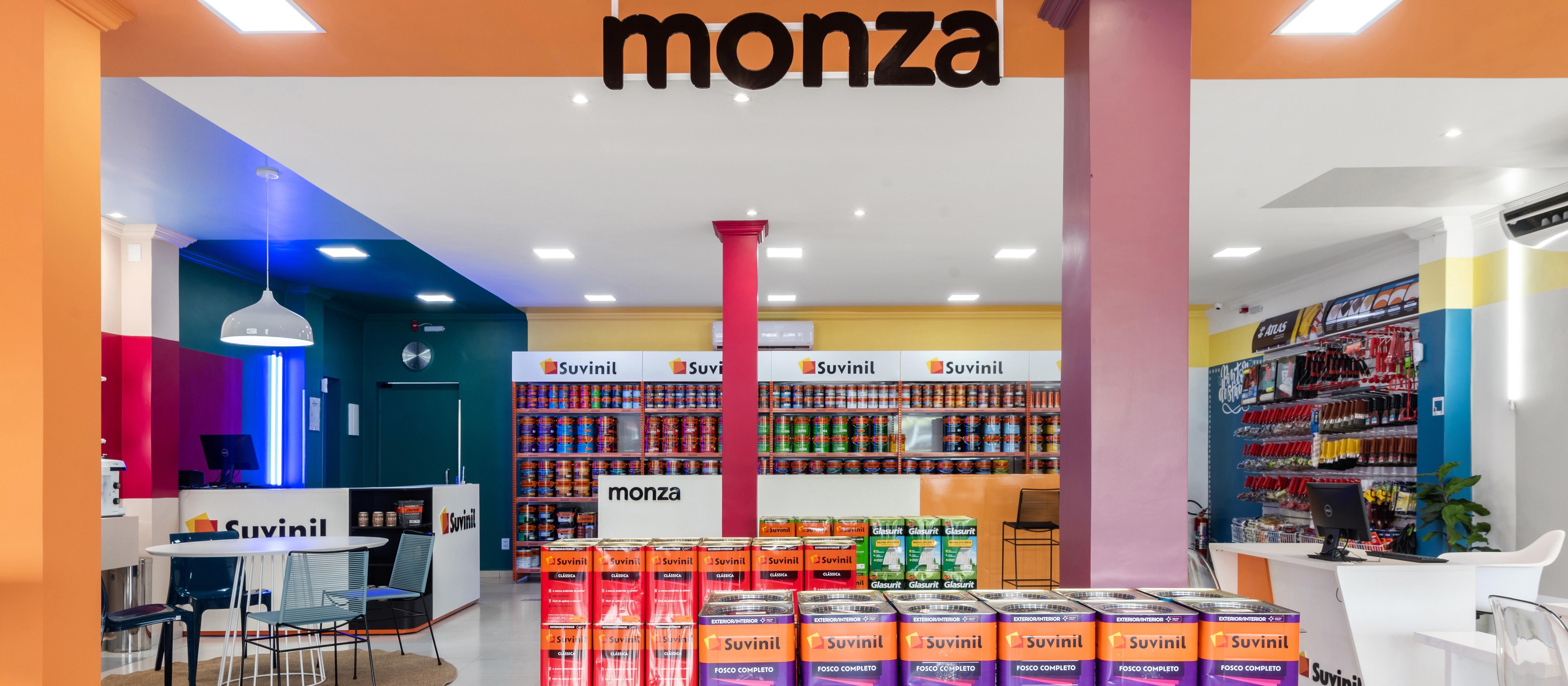 Ohma Designs assina projeto da nova Monza Tintas em Cuiabá
