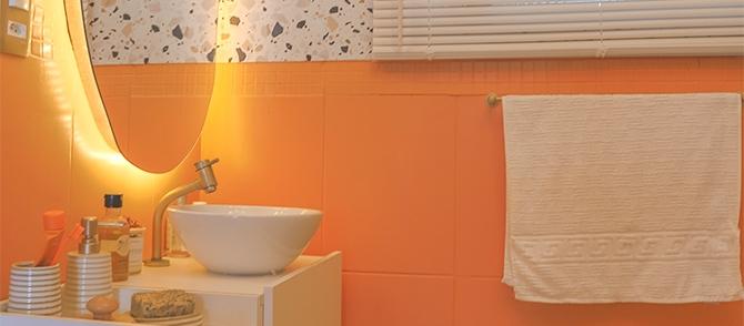 A incrível transformação do banheiro da Lari Cunegundes