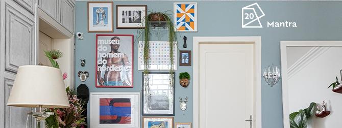 Histórias de Casa: as novas cores do apartamento do Fabiano!