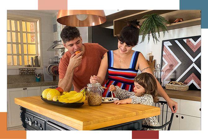 Histórias de Casa: a casa da Manu é cheia, mas é funcional!