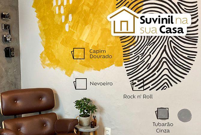 Aprenda a técnica de pintura orgânica com Suvinil!