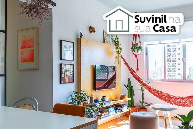 Suvinil e Histórias de Casa: inspiração pra reformas simples