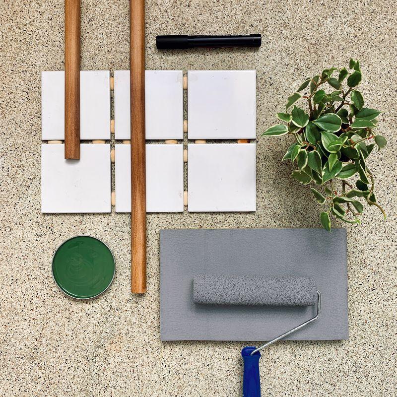 Aprenda a pintar azulejos e transforme sua área de serviço