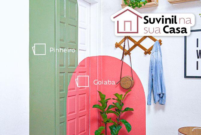 Aprenda a fazer pintura geométrica colorida em casa