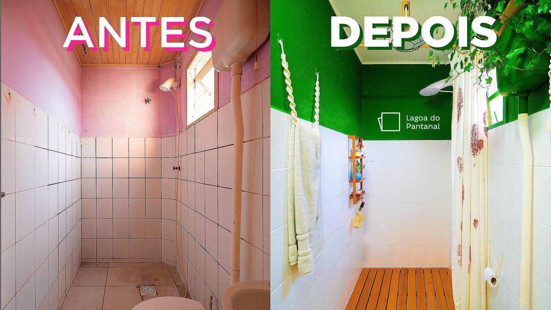 Como reformar banheiro pequeno gastando pouco