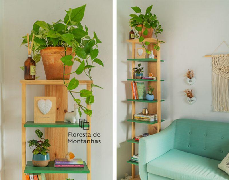 Aprenda a fazer uma estante vertical