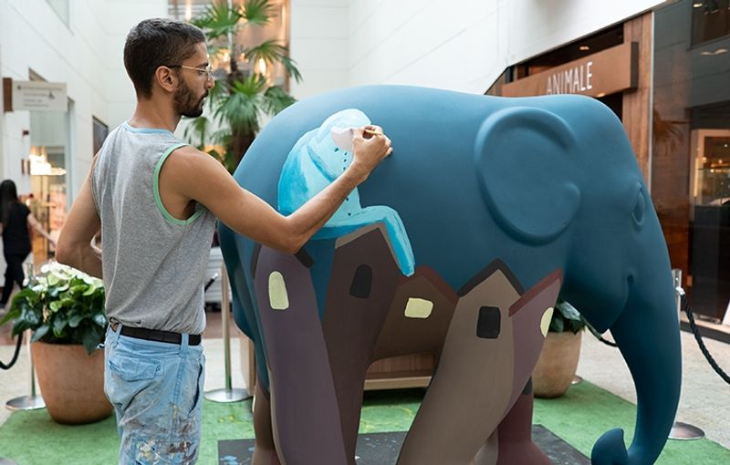 Além da Cor Suvinil | Elephant Parade