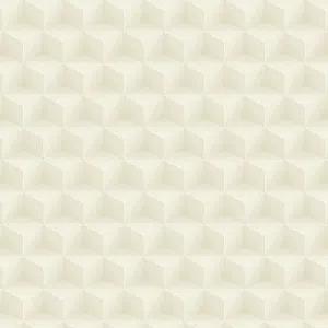 Bobinex Uau! Painel  Geométrico Cubo Mágico Bege