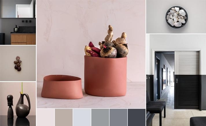 Parede decorada com Suvinil mostrando como as cores combinam com tudo.