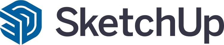 Logo do SketchUp, ferramenta de projetos 3D.