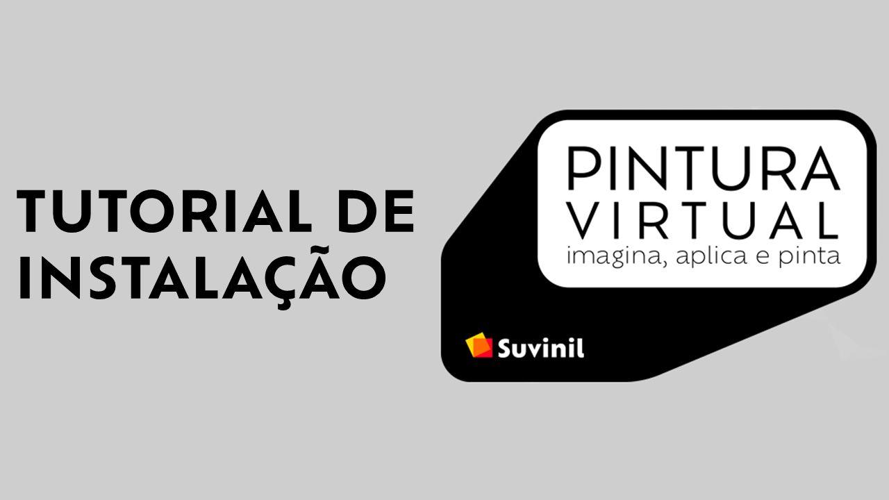 Vídeo tutorial ensinando a instalar a Pintura Virtual da Suvinil para visualizar a sua pintura com mais praticidade.