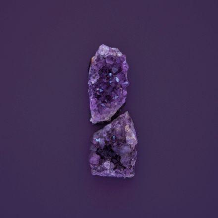 Ilustração dos tons de violeta de cores da Suvinil.
